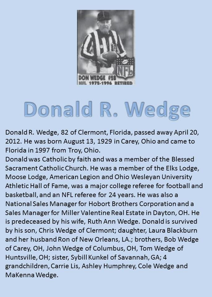 Don Wedge