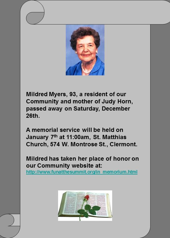 Mildred Myers
