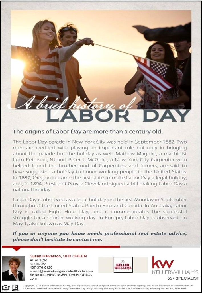 A Brief History of Labor Day