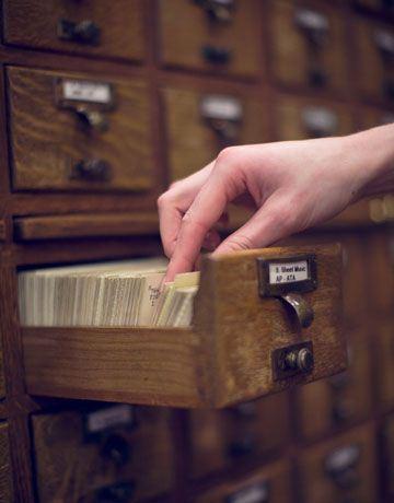 50's library dewey decimal system