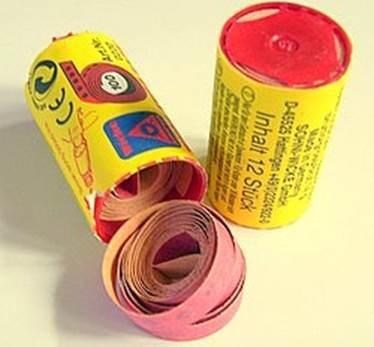 bubble gum rolls