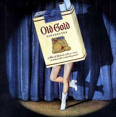 old gold tv commercial