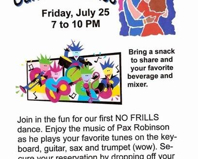 """110b """"No Frills Summer Dance"""" 7-25-03"""