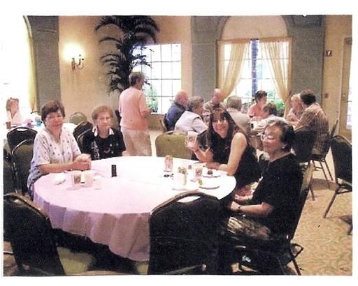 12 Pot Luck Dinner Aug 15, 2002