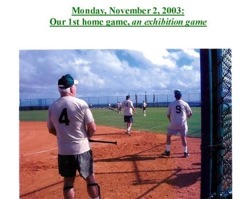 189 SG Softball 11-2-2003