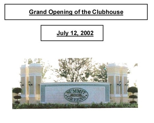 2 Grand Opening July 12, 2002