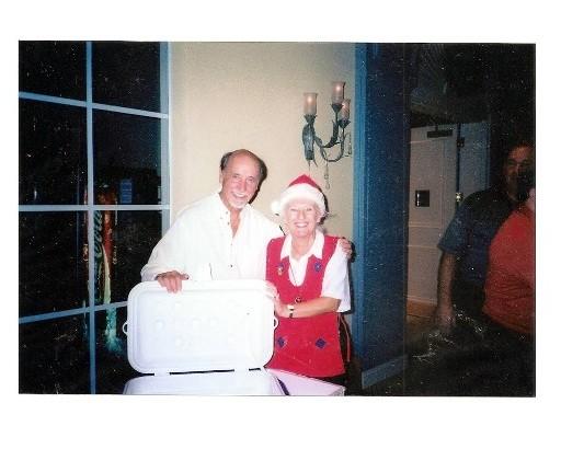 21 Secret Santa Dec 13 2002 Jerry & Micke Gimborn
