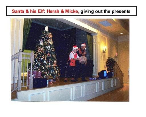 23 Secret Santa Dec 13 2002 Santa, Hersh & Elf, Micke