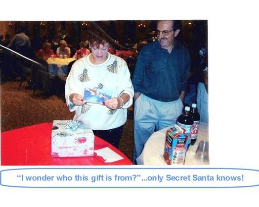 24 Only Secret Santa knows!