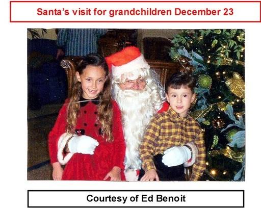 28 Santa's Visit courtesy Ed Benoit Dec 23 2002