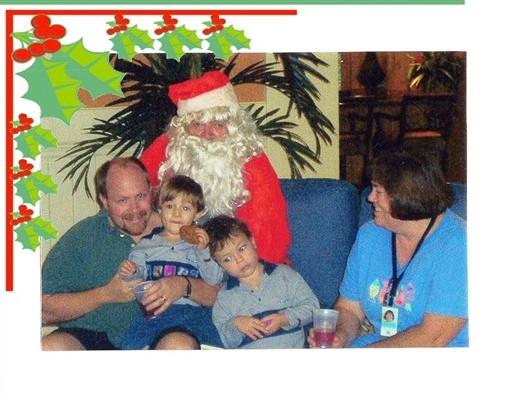 29 Santa's Visit courtesy Ed Benoit Dec 23 2002