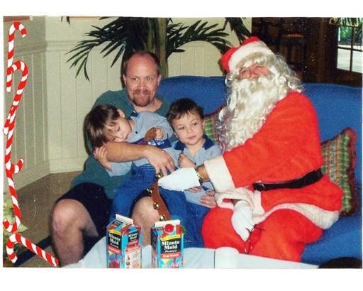 30 Santa's Visit courtesy Ed Benoit Dec 23 2002