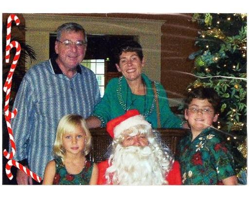 31 Santa's Visit courtesy Ed Benoit Dec 23 2002