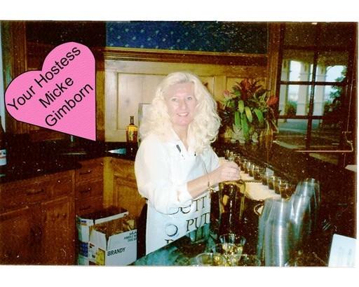 5 Your Hostess, Micke Gimborn