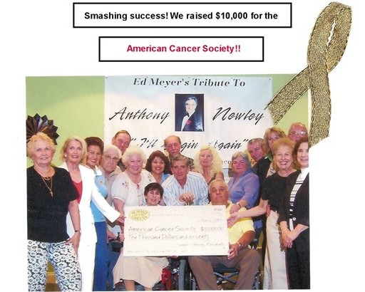 58 $10,000 to Cancer Society
