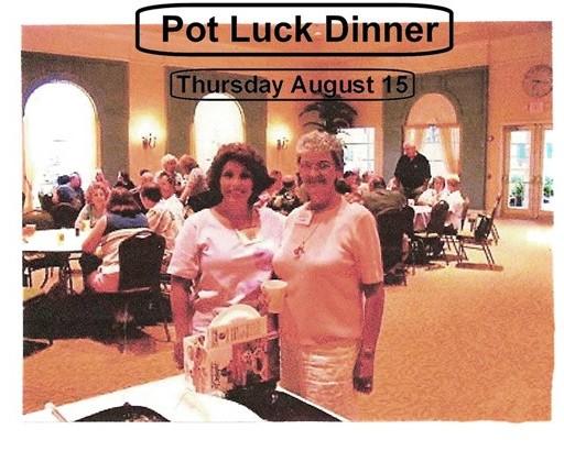 6 Pot Luck Dinner Aug 15, 2002