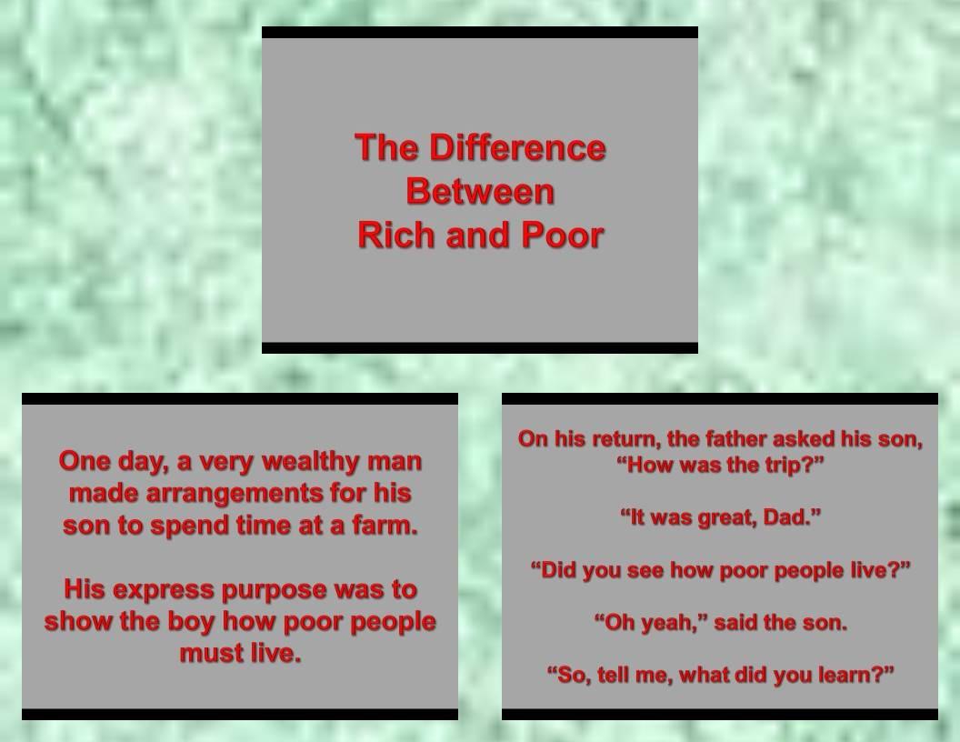Rich or Poor1