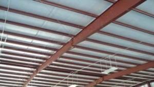 C or Z steel beams  or Purlins