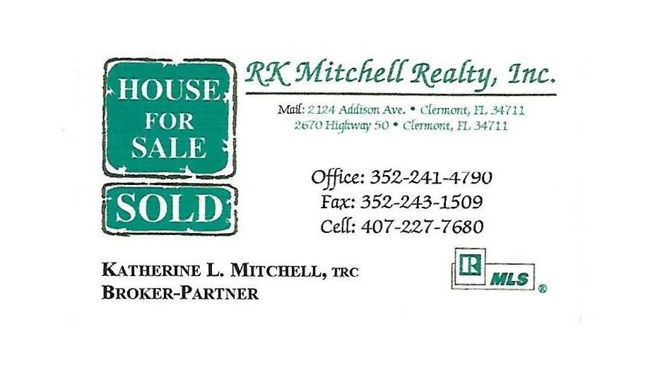 RK Mitchell Bus Card